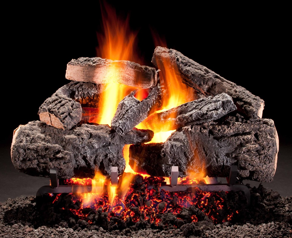 Picture - Gas Logs - Fireplace Doctor Inc
